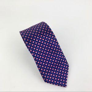 Isaac Mizrahi youth boy's grid tie